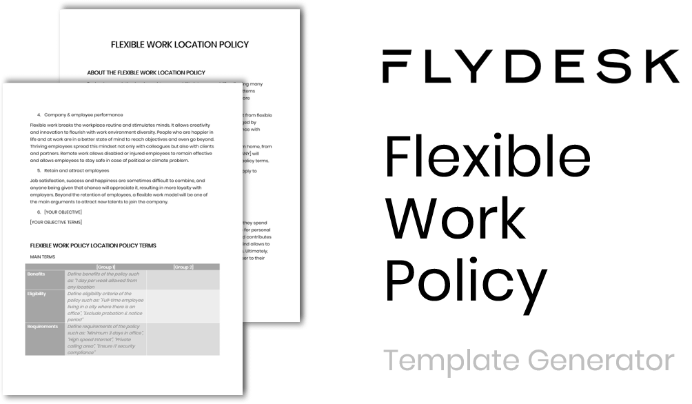 Flexible Work Policy Template Generator